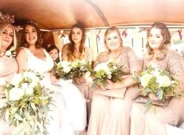 VW Campervan wedding hire in Basildon